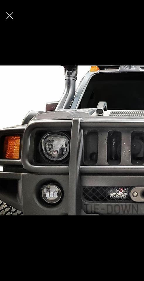 Paire de feux avant full Led pour tout les modèles de Hummer H3  96389510