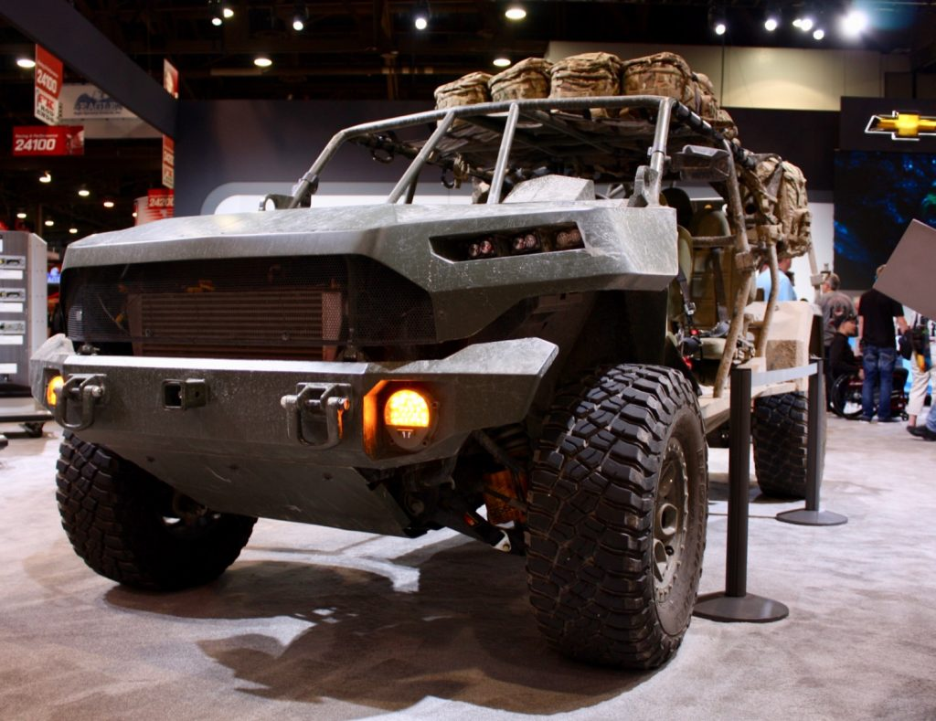 Le nouveau Kia VTT avec un petit air du nouveau Hummer EV électrique concurrence le GM ISV Chevro10