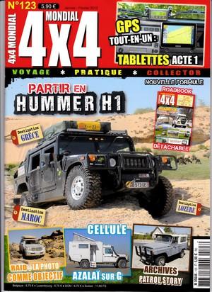 Les magazines pour Hummer sous toutes les coutures  Couv4x10