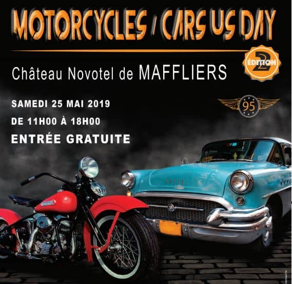 Motorcycles / Cars US Day le Samedi 25 mai 2019 à 95560 Maffliers Entete10