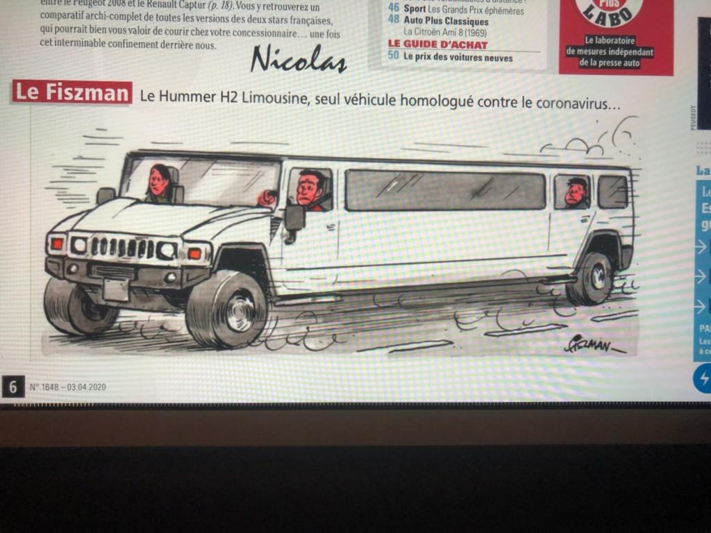Hummer seul véhicule homologué anti coronavirus ☠️ Export10