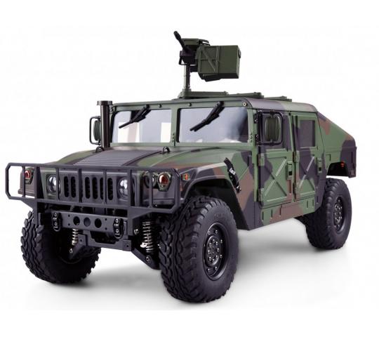 Un HUMMER H1 4X4 à l'échelle 1/10 version CAMOUFLAGE PRO-EDITION RTR plus vrai que vrai ! Hummer11