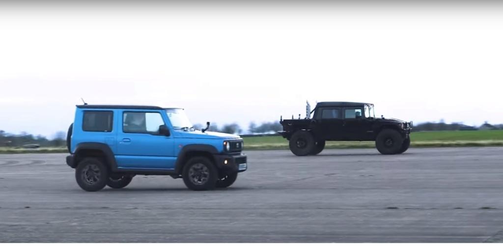 Prêt à regarder ce duel entre le Hummer H1 et le Jimmy de chez Suzuki / Hummer H1 vs Suzuki Jimny Drag Race Is No Contest, But the H1 Gets Revenge Hummer27