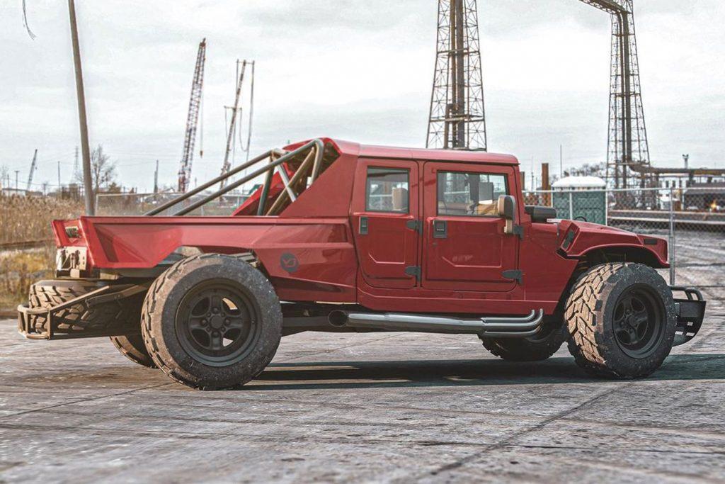 Ce à quoi pourrait ressembler un pick-up Hummer H1 d'aujourd'hui  Hummer31
