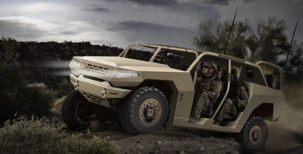 Le nouveau Kia VTT avec un petit air du nouveau Hummer EV électrique concurrence le GM ISV Kia-mi10