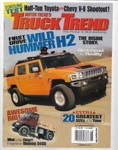 Les magazines pour Hummer sous toutes les coutures  S-l30011