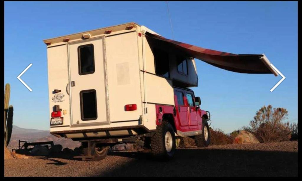 Ce Hummer H1 transformé en camping car de l'extrême est à vendre à $25 000 seulement Screen17