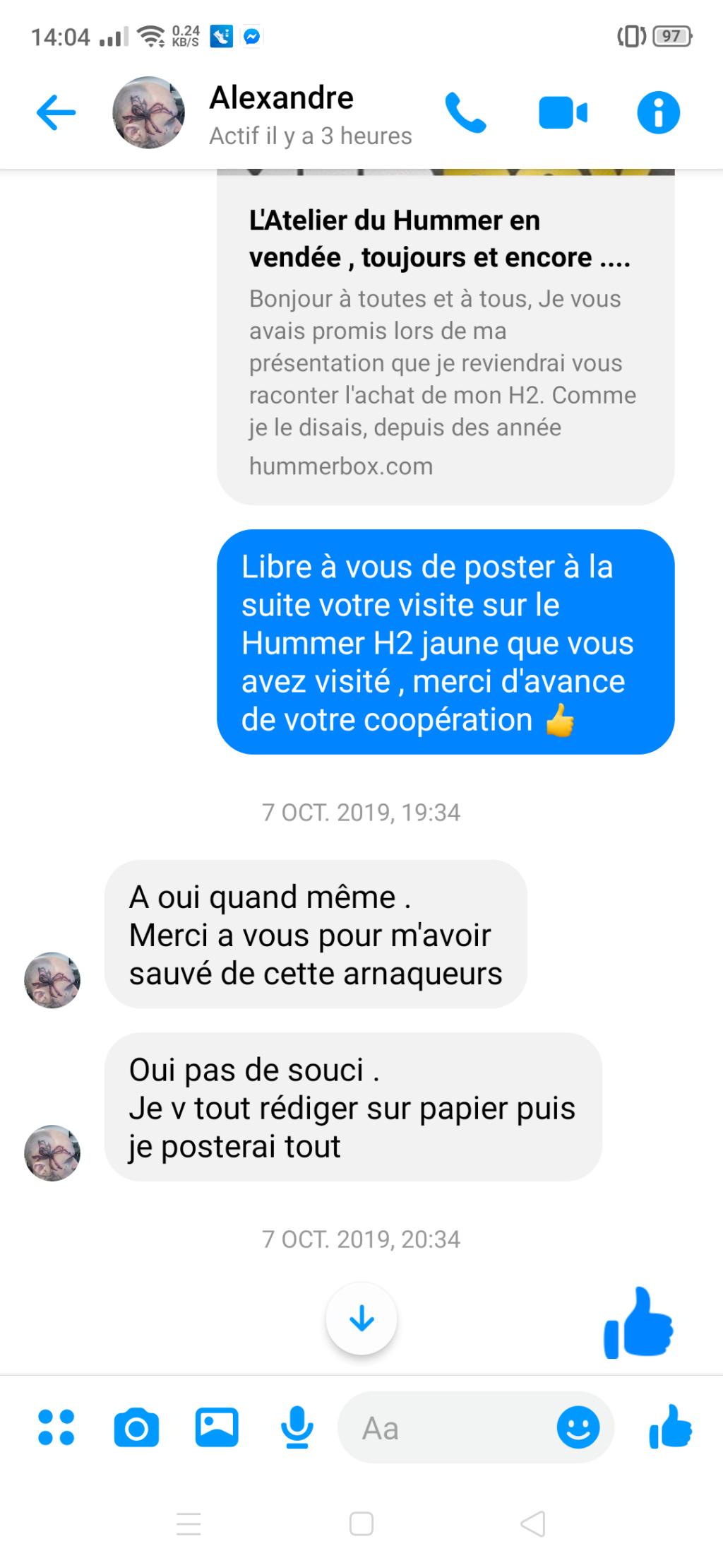 L'atelier du Hummer et Jean Sébastien Guillou Ledoux en Vendée Screen25
