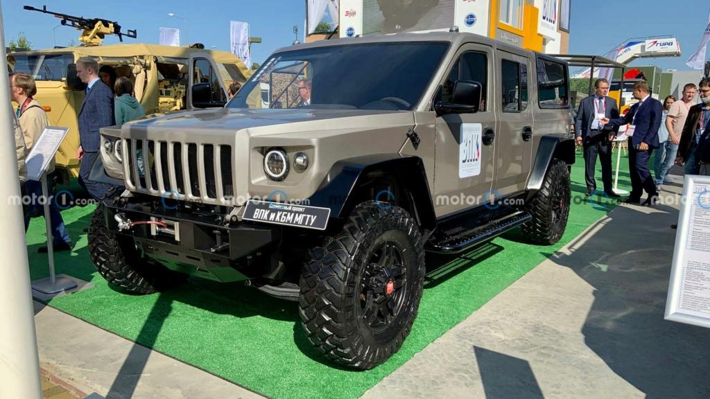 Le Strela, le Hummer en version russe Vnedor10