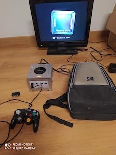 VDS GAMECUBE Platine avec sac à dos Gamecube Nintendo. MAJ baisse prix 16085710