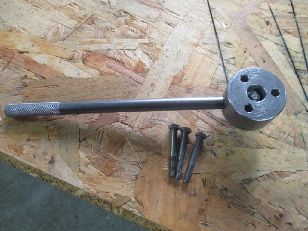 Fabrication arrache volant magnétique solex Img_4115