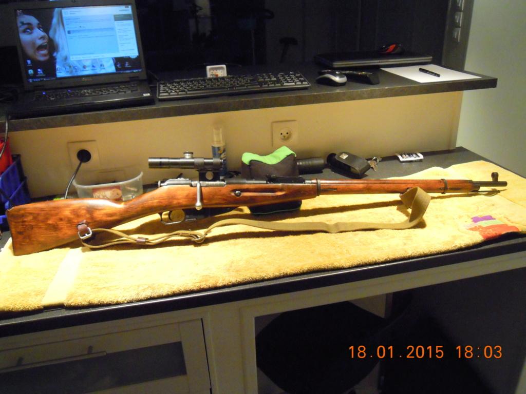 Le mosin 91/30 sniper et sa lunette PU  Mosin-10
