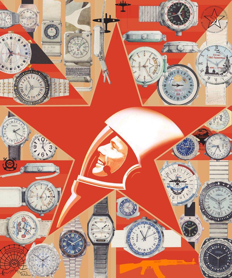 Les Raketa 24 heures soviétiques (1ère partie: Les 2623 et les 2623.H classiques) 54741f10