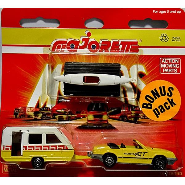 Ford mustang + 2 remorques caravane +canoë  Majore10