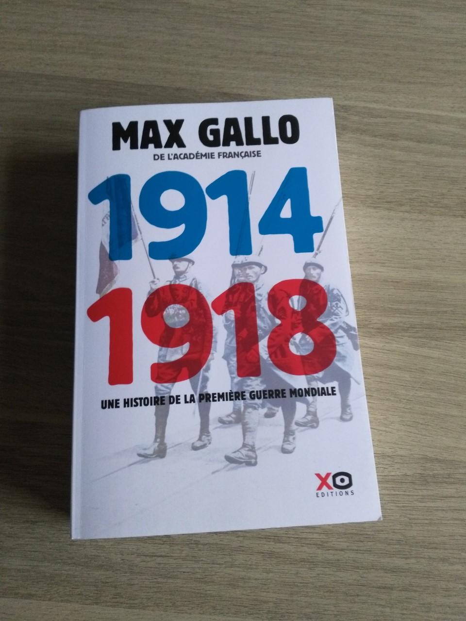 "Livre de max Gallo ""1914 1918""  Thumbn47"