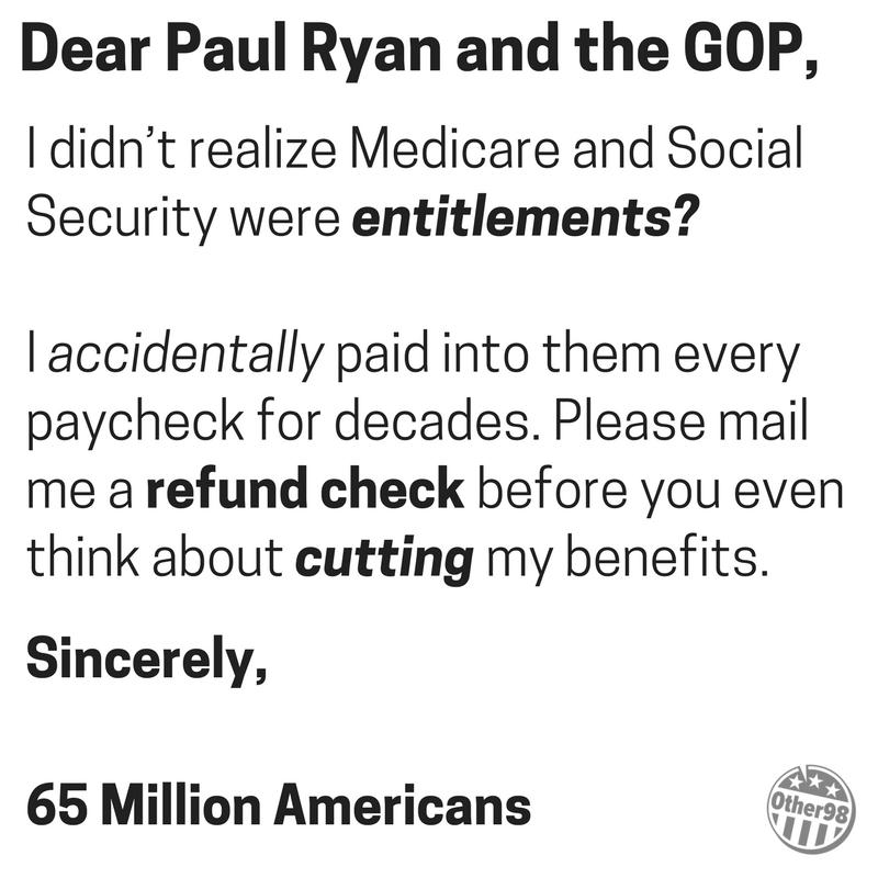 US Republican Congress Lunacy Rant Thread - Page 6 Entitl10