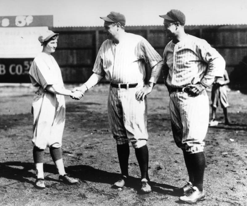 Jackie Mitchell struck out Babe Ruth in 1931 Jackie10