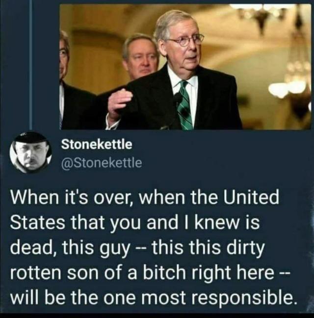 US Republican Congress Lunacy Rant Thread - Page 11 Mcconn18