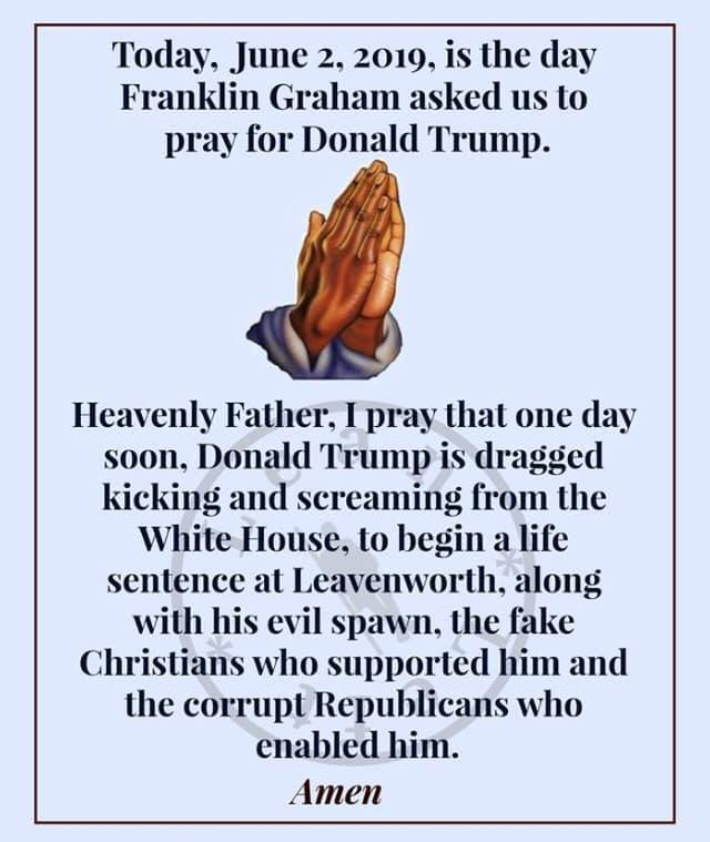 Donald Trump Vent Thread - Page 19 Prayin10