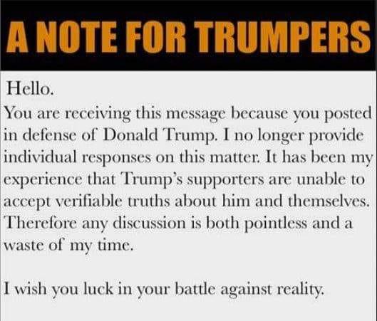 Donald Trump Vent Thread Trum1244