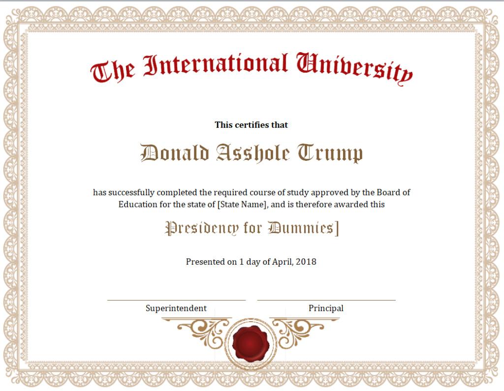 Donald Trump Vent Thread - Page 12 Trump116