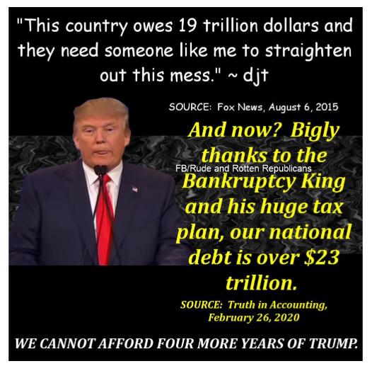 Donald Trump Vent Thread - Page 14 Trump164