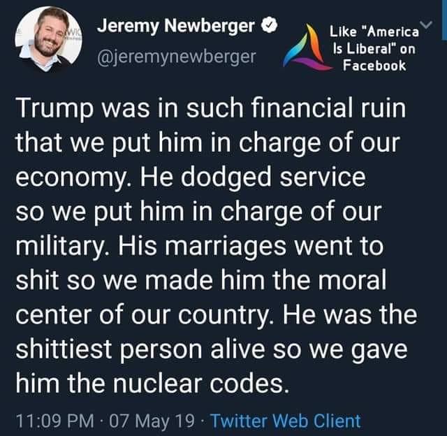 Donald Trump Vent Thread - Page 17 Trump611