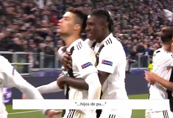 Cristiano Ronaldo Faces Ban For Swearing At Atletico Madrid Fans (Photos)  89921011