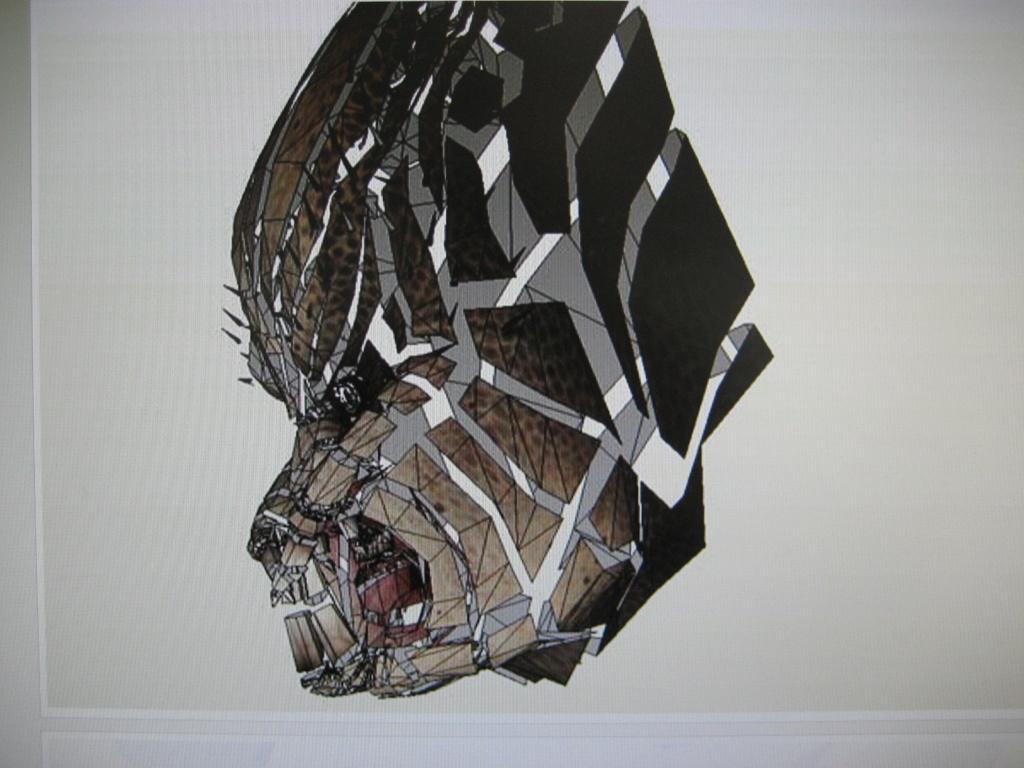 Predator Head Img_2611