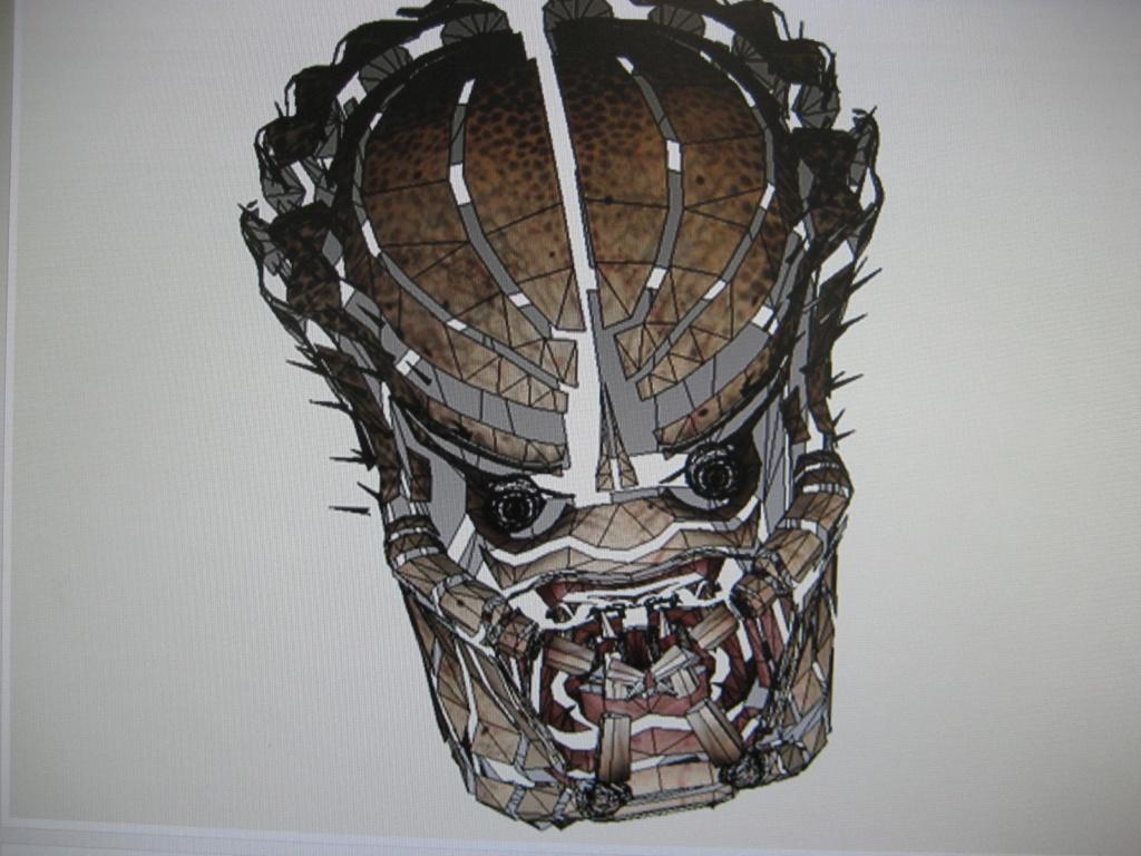 Predator Head Img_2612