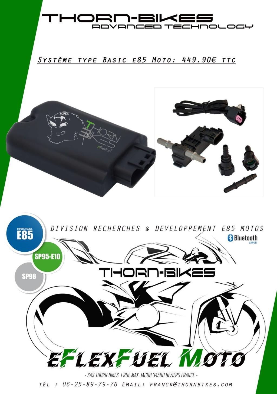 [TUTO] Installation du kit BioEthanol E85 de THORN-BIKES sur la MT-10 Kit-th10