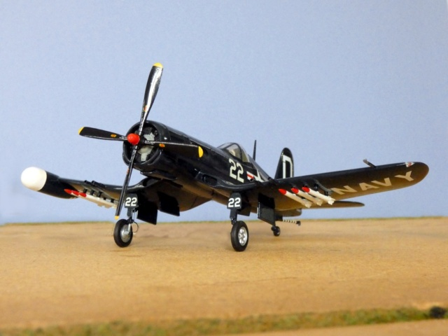 Vought F4U-5N Corsair, Lindberg, 1/48, No. 301M 12_f4u10