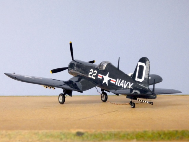 Vought F4U-5N Corsair, Lindberg, 1/48, No. 301M 15_f4u10