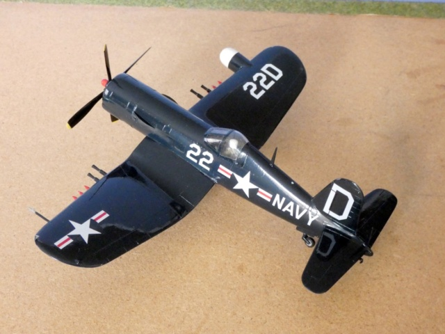 Vought F4U-5N Corsair, Lindberg, 1/48, No. 301M 17_f4u10