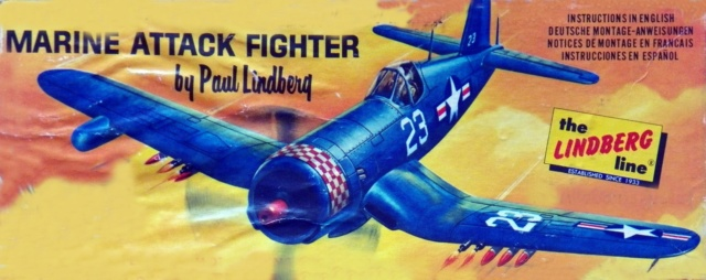 Vought F4U-5N Corsair, Lindberg, 1/48, No. 301M 1_f4u-10