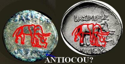 Séleucide à l'éléphant Antioc11