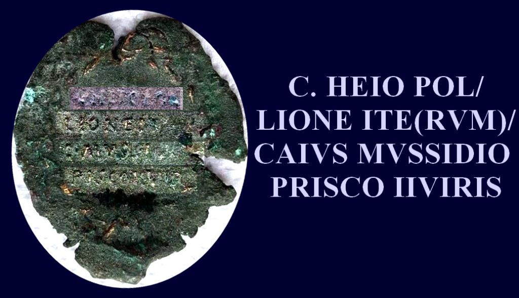 Petit bronze d'Agrippa ... Caius_10