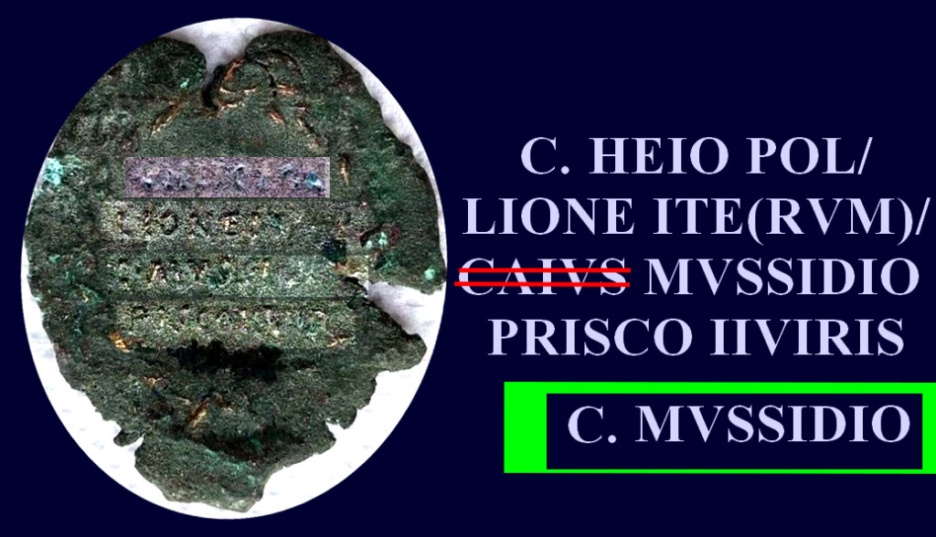 Petit bronze d'Agrippa ... Caius_11