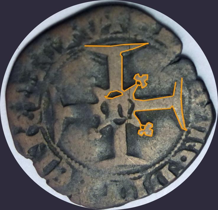 """Féodale, ou autre ? C'est """"autre"""" : une royale d'Henri V de Lancastre (niquet au léopard, Rouen) - Page 2 Jean-l12"""