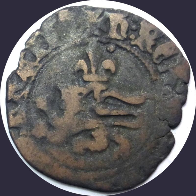 """Féodale, ou autre ? C'est """"autre"""" : une royale d'Henri V de Lancastre (niquet au léopard, Rouen) - Page 2 Jean-l13"""