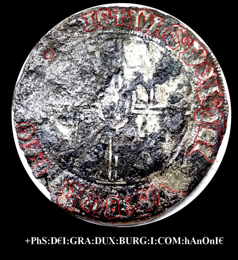 """Double Gros """"Vierlander"""" de Philippe Le Bon, Hainaut... Jean-l16"""