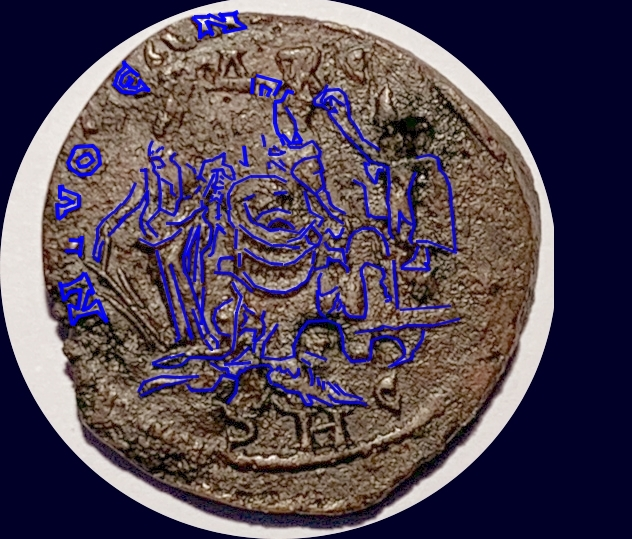 Bronze colonial d'Antioche pour Alexandre Sévère ... Jean_l11