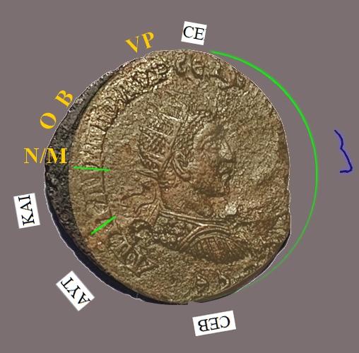 Bronze colonial d'Antioche pour Alexandre Sévère ... Ma_der10