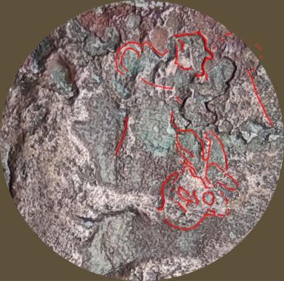 Probablement monnaie provinciale de Trajan, Alexandrie, an 14 du règne, au quadrige d'éléphants Nikzo_10