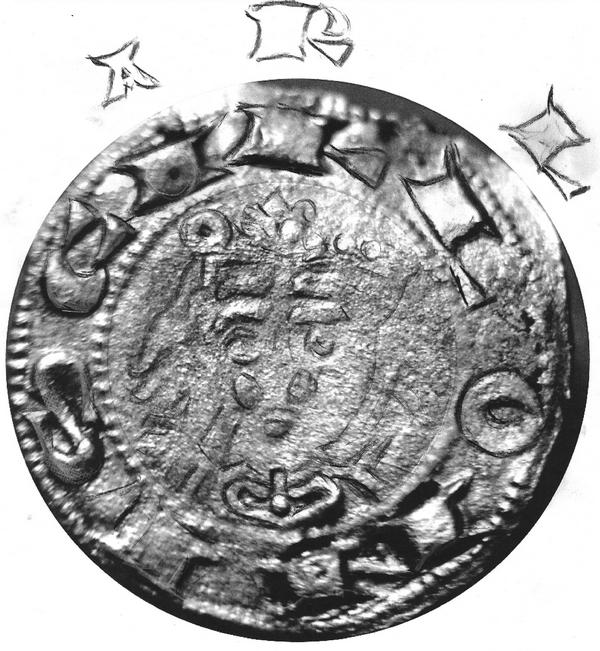 """denier d'Alphonse VII, empereur """"de toutes les Espagnes"""", roi de Castille et Léon (1105-1126-1157) Nzomau12"""