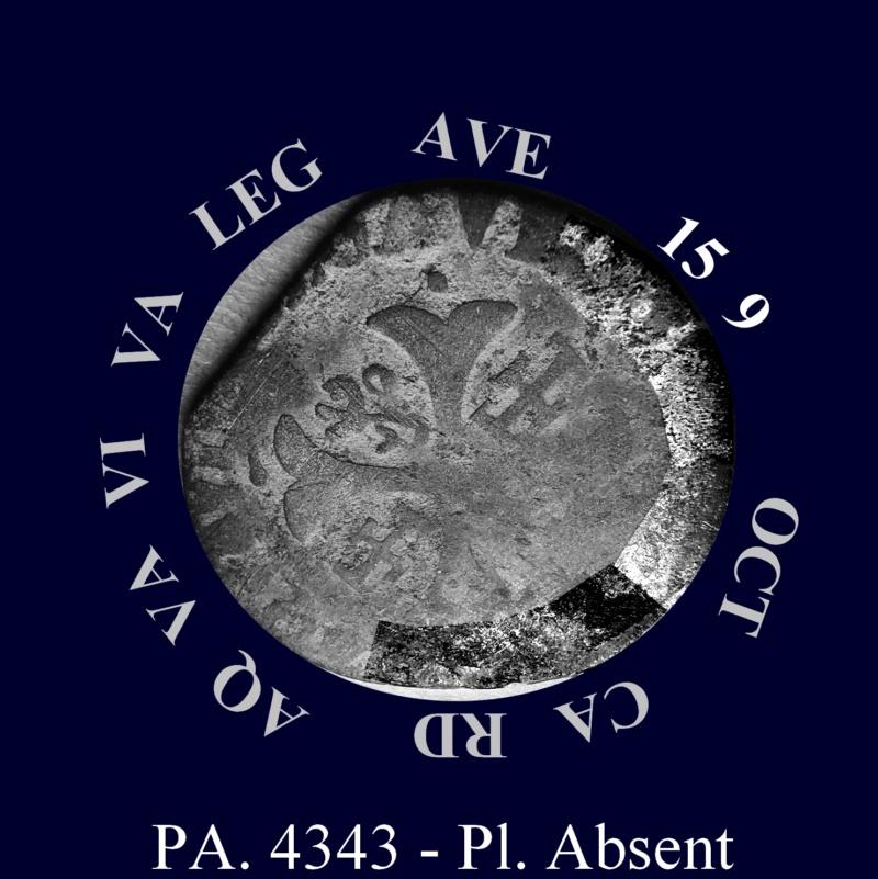 Comtat-Venaissin Clément VIII Douzain d'Octavio Aquaviva Légat en Avignon en 1594 Octavi10