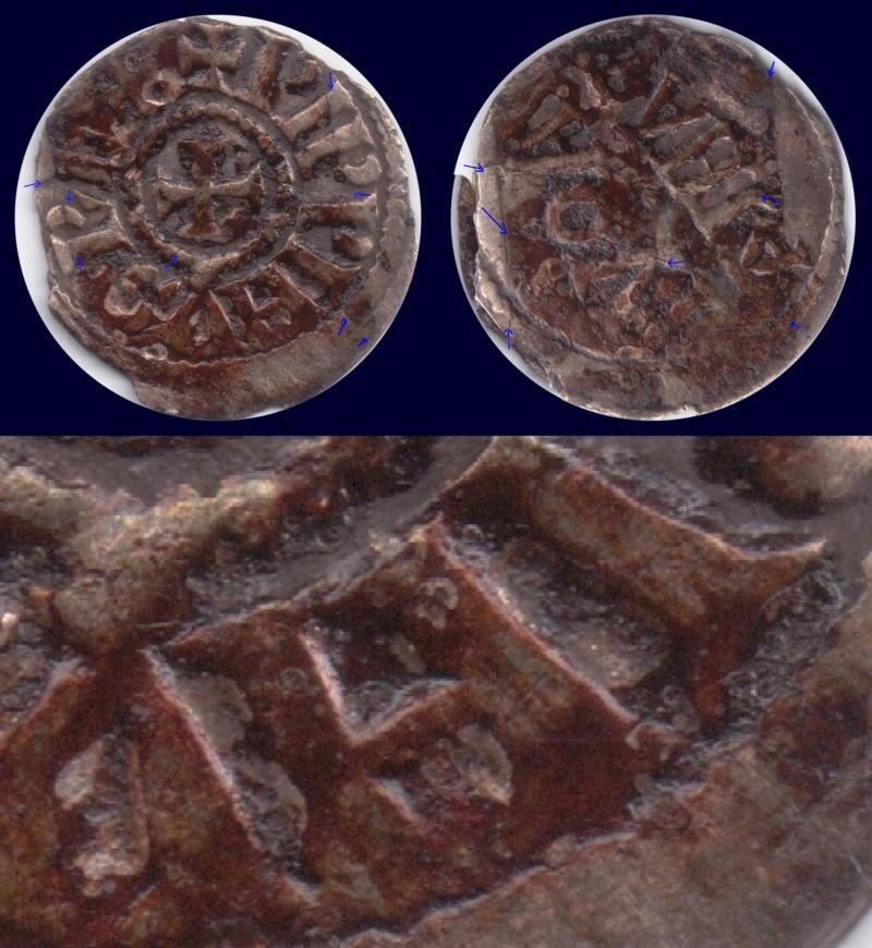 Obole de Pépin II d'Aquitaine à nettoyer Pzoppi10