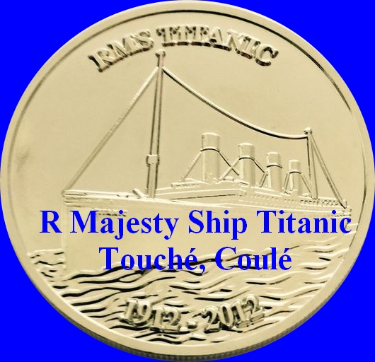 besoin d'aide pour cette médaille ou jeton Titanic - Merci Rms_ti10