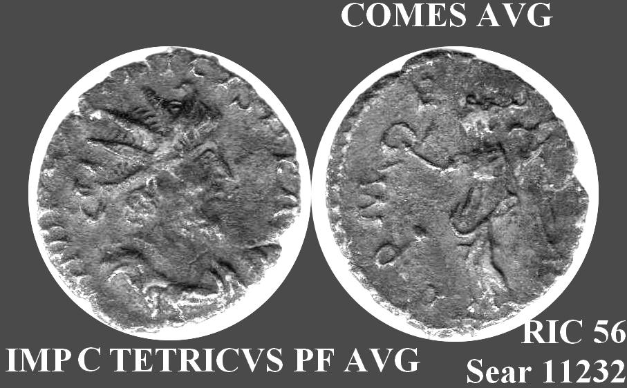 Petite monnaie romaine Tetric10