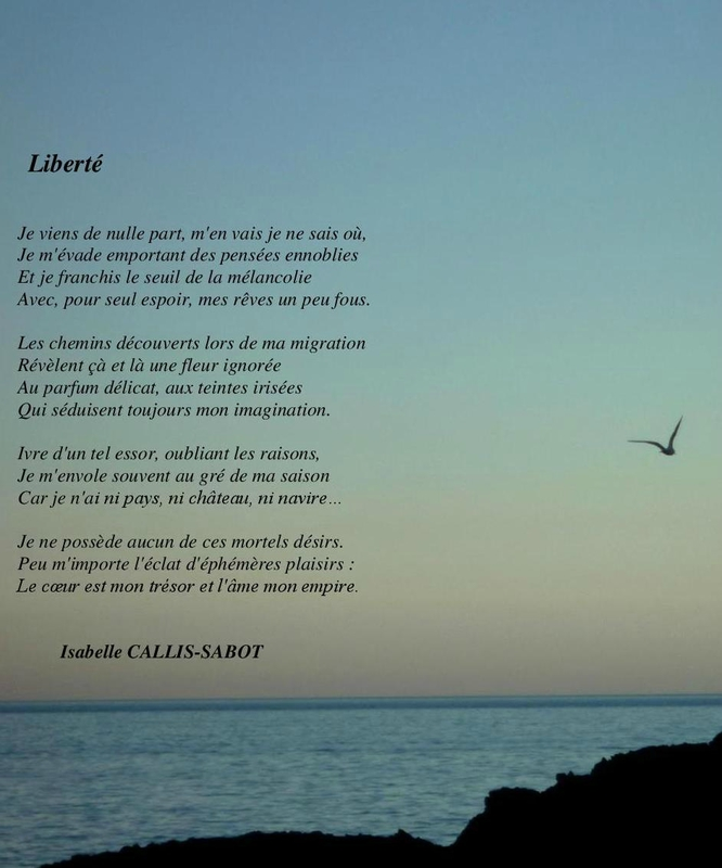 Liberté  - Isabelle Callis-Sabot Poeme_10